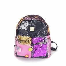 STK Рюкзак разноцветный с паетками модель 3