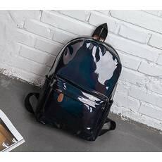 STK Рюкзак голографічний середнього розміру чорний