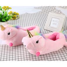 STK Жіночі тапочки іграшки Однороги рожеві, 36-40