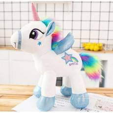 STK Мягкая игрушка Единорог белый