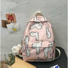 STK Рюкзак з овечками рожевий