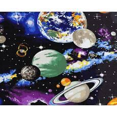 STK Картина по номерах Космос  без коробки, Никитошка, 40*50 см