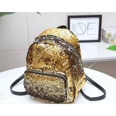 STK Рюкзак в паетках золото