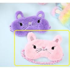 STK Маска для сна Мышка розовый