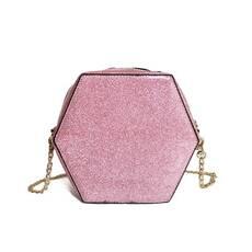 STK Сумка розовая глиттер