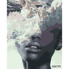 STK Картина по номерам Океания-2, цветной холст, 40*50 см, без коробки Barvi