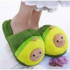 STK Тапочки авокадо плюшеві зелені, 35-38