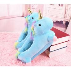 STK Жіночі тапочки іграшки Однороги блакитні, 36-40