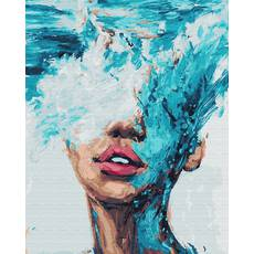STK Картина по номерам Океания, цветной холст, 40*50 см, без коробки Barvi