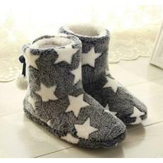 STK Тапочки із зірками сірі, 35-36