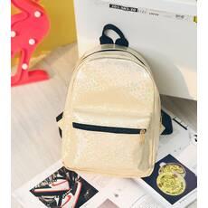 STK Маленький рюкзак з блискітками молочний