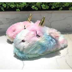 STK Різноколірні тапочки іграшки Однороги, 35-38