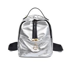 STK Небольшой рюкзак женский серебро