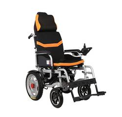 Складная инвалидная электроколяска MIRID D6036C (съемный подголовник). Литиевая батарея – 20Ач.