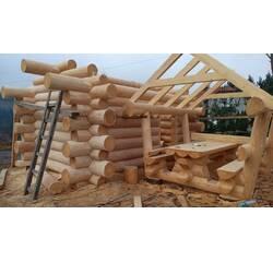 Дерев'яні споруди з оциліндрованого брусу