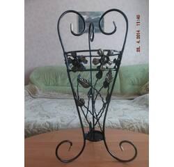 Кованая декоративная ваза