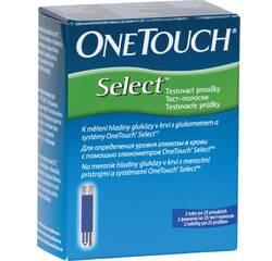 Тест-полоски  One Touch Select - 50 тест-полосок