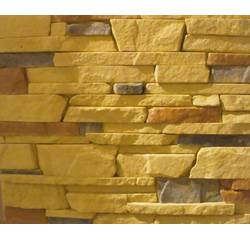 Gypsum facing artificial stone Alaska (light yellow)