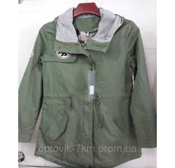 КУПИТИ. Жіноча подовжена куртка пальта 100истый бавовна 14ec5591d606e