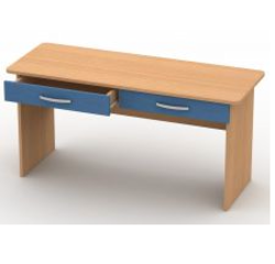 Стол для занятий с ящиком (двухместный) СЗ-2