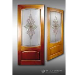 Вітражі фацетовані для дверей