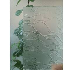 Візерункове скло, абстракція