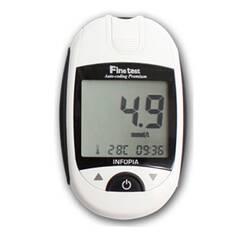 Глюкометр Finetest Premium (Файнтест Преміум) + 50 тест-полосок + 25 ланцетов
