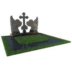 Надгробний пам'ятник з янголами