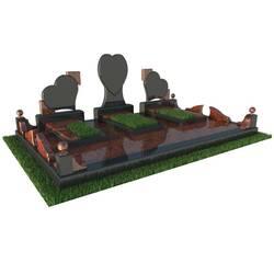 Надгробний комплекс на трьох, памятник на трьох