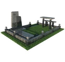 Надгробний комплекс з граніту