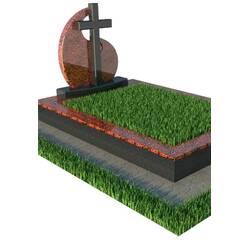 Надгробний пам'ятник з хрестом