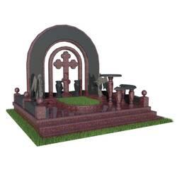 Гранітний комплекс з аркою, токівський граніт