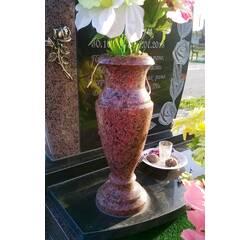 Гранитная ваза лізник 30 см