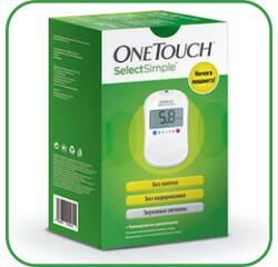 Глюкометр OneTouch SelectSimple