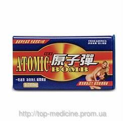Купити препарат для підвищення потенції Atomic bomb - краще сиалиса і віагри!