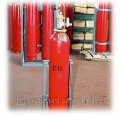 Модуль газової пожежогасінні МГП- 20