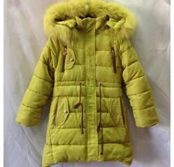 Дитяче зимове пальто оптом на дівчинку 140-164 8bb969cadf676