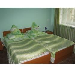 Двухместная комната со всеми удобствами (матери и ребенка) – отделение реабилитации детей с ДЦП