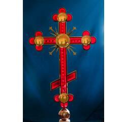Хрест православний червоний, купити в Україні