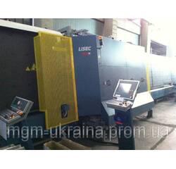 Стеклопакетная лінія Lisec 1600 X 3500 з газ пресом і роботом герметизації