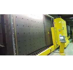 Стеклопакетная линия Lisec 2500 Х 3500, газ, пресс робот