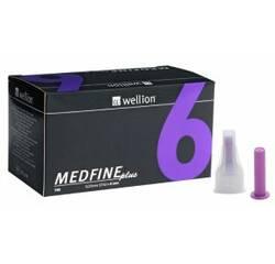 """Иглы """"Wellion Medfine plus"""" (6мм)"""
