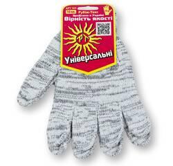 Перчатки рабочие, без ПВХ точки, 10 класс вязки