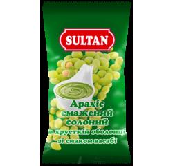 Арахіс смажений солоний в хрусткій оболонці зі смаком васабі купити від виробника