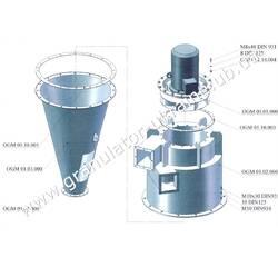 Пневмосистема (система циклонів) подачі сировини, відведення крихти і аспірації лінії гранулювання ОГМ-1,5 (НОВА)