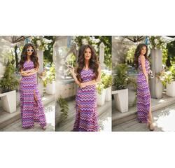 Платье Мод 429 креп-шифон (AMBR)