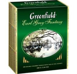 Чай Greenfield Earl Grey Fantasy 100х2г Картон