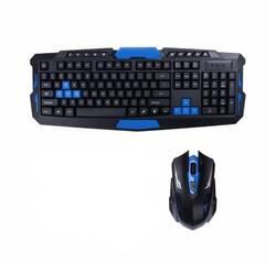 Бездротова ігрова клавіатура + мишка HK8100 купити в Миколаєві