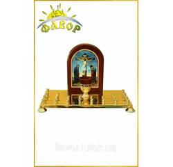 Кришка столу панахиди, 24 свічки (літографія)