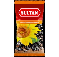 """Насіння соняшника смажене, підсолене ТМ """"Sultan"""" 80 г купити в Україні"""